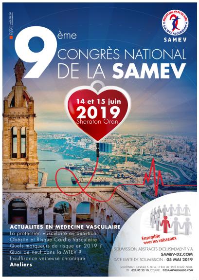 9ème Congrès de la SAMEV - 04 et 05 octobre 2019