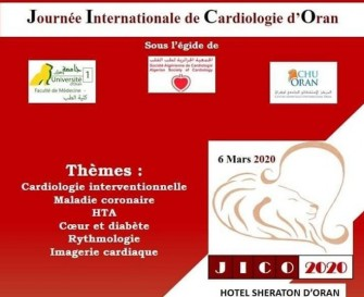 Journée Internationale De Cardiologie- Le 06 mars 2020- Hôtel Sheraton dOran