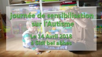 Journée de sensibilisation sur l'autisme - 14 Avril 2018 à Sidi bel abbes