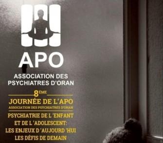 8ème journée de L'Association des psychiatres d'Oran- Jeudi 24 Octobre 2019-Oran