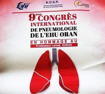 9ème congrès international de pneumologie de lEHUO- Les 06 et jeudi 07 novembre 2019, Oran