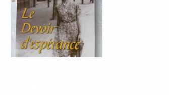 «  Le devoir despérance »