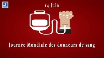 14 Juin : Journée mondiale des donneurs de sang