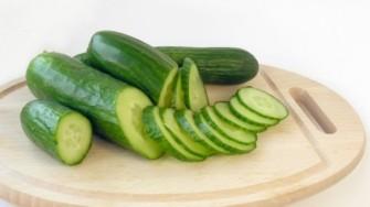 Le concombre, un aliment idéal en été :   rafraîchissant et peu calorique