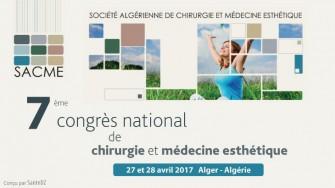 7ème congrès de la Société Algérienne de Chirurgie et Médecine Esthétique