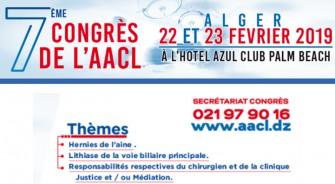 7éme Congrès de lAACL-22 et 23 Février 2019