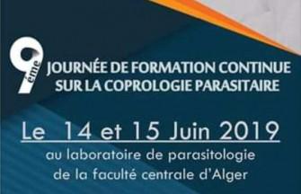 9ème Journée de Formation Continue de la SAPMM - 14 au 15 Juin 2019 à Alger