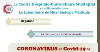1ère journée de microbiologie - CORONAVIRUS Covid-19, 20 février 2020 - CHU Mustapha