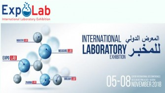 Salon International du laboratoire EXPOLAB -  05 au 08 Novembre 2018 à  Alger