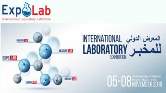 Salon International du laboratoire EXPOLAB -  05 au 08 Novembre 2018 à  Alger