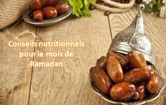 Alimentation et conseils nutritionnels pendant le ramadan