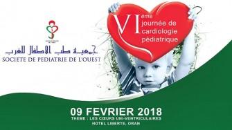 6ème journée de cardiologie pédiatrique 09 février 2018 - Oran