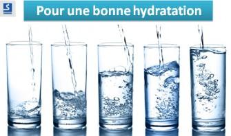 Pour une meilleure hydratation