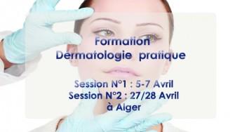 Formation  de Dérmatologie pratique - 5 au 28 avril 2018 à Alger