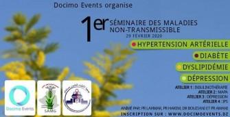 Premier Séminaire Sur Les Maladies Non-Transmissible- Le 29 février 2020 -Mostaganem