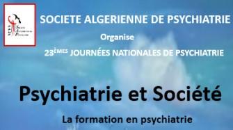 23èmes Journées nationales de psychiatrie-les 04- 05 Juin 2020 à l'hôtel El Aurassi- Alger
