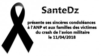 Condoléances du crash de l'avion militaire le 11/04/2018
