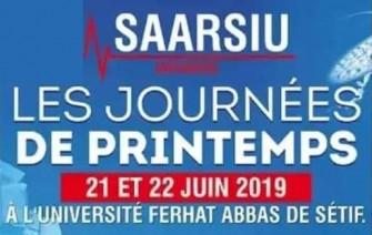 Les Journées de Printemps de la SAARSIU - 21 au 22 Juin 2019 à Sétif