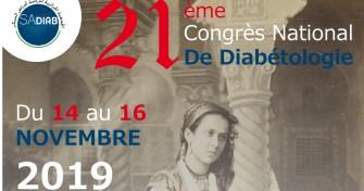 21ème Congrès National de Diabétologie Du 14/11/2019 au 16/11/2019 Hôtel El Aurassi, Alger
