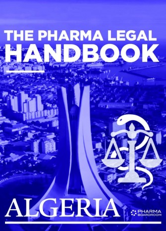 Le fascicule « the pharma legal handbook Algeria » de la SAARPE