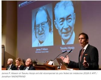 Le Prix Nobel de Médecine récompense les recherches contre le cancer