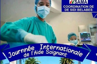Journée Internationale de lAide-Soignant, le 16 novembre 2019 à Sidi Bel Abbes.