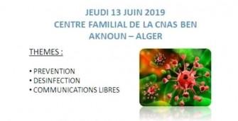 12ème Journée Nationale d'Hygiène Hospitalière - 13 juin 2019 à Alger