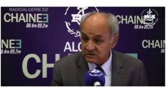 Invité de la rédaction chaine3: Mohamed Bekkat Berkani Président du Conseil National de l'Ordre des Médecins