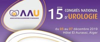 15ème Congrès National D urologie- 05 au 07 décembre 2019- Alger