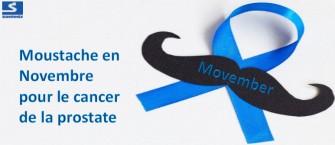 Movember : la moustache en novembre pour le cancer de la prostate