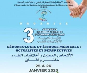 3èmes Journées Internationales De Léthique Médicales-Les 25 et 26 janvier 2020, Oran