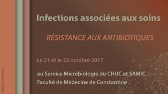 Infections associées aux soins - résistance aux antibiotiques