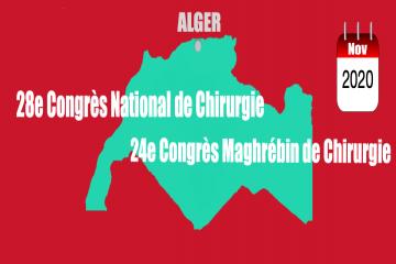 28ème Congrès National de Chirurgie, Novembre 2020 -Alger-
