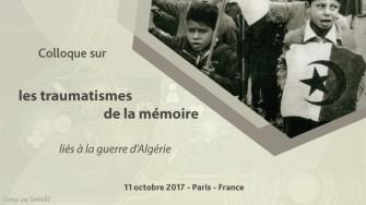 Colloque sur les traumatismes de la mémoire liés à la guerre dAlgérie