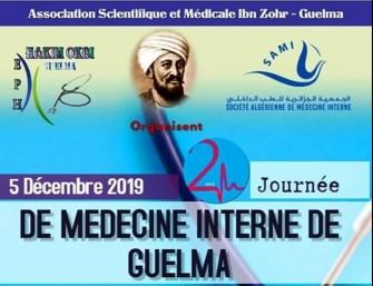 02 Journée Nationale de Médecine Interne de Guelma (JNMG)-05 Décembre 2019