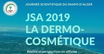 Journée scientifique dAlger 2019 La dermo-cosmétique- Le 30 novembre 2019- Ain Benian