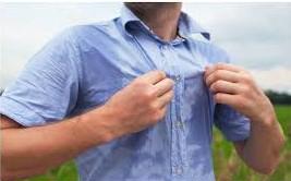 Transpiration excessive -hyperhidrose-
