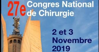 27 ème congrès national de chirurgie-les 2-3 Novembre 2019 à l'Hôtel El Aurassi, Alger