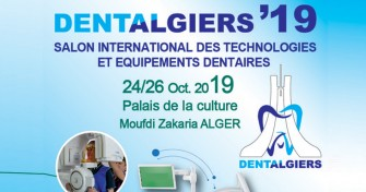 Salon international des technologies et équipements dentaires DENTALGIERS - 24-26 Octobre 2019 à Alger
