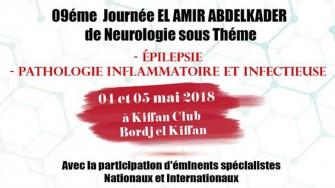 9ème Journée El Amir Abdelkader de Neurologie - 04 et 05 Mai 2018 à Alger