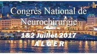 Congrès de Neurochirurgie le 1 et 2 Juillet 2017